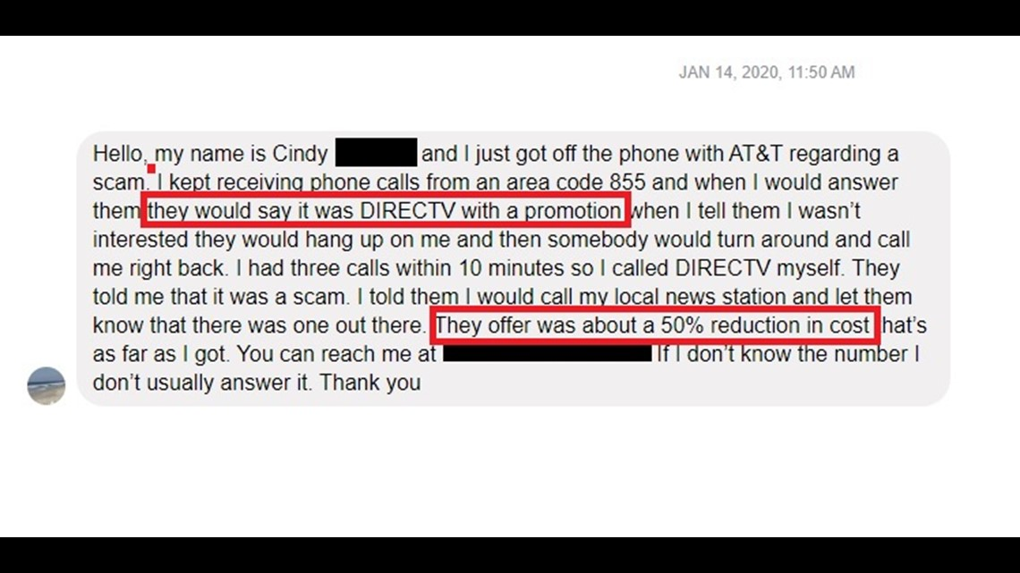 'Would you like to cut your DirecTV bill by 50%?' Yes, you would, but not this way!