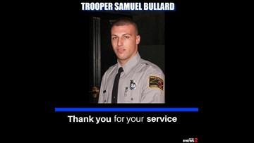 Family, Friends and Law Enforcement Remember NC Trooper Samuel Bullard