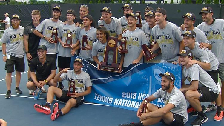 WFU Men's Tennis Team To Visit White House