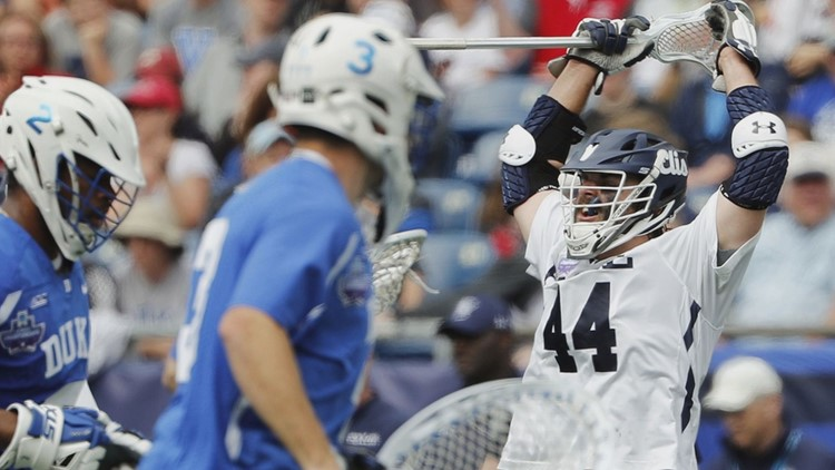 The Bulldogs are the first Ivy League school to win the title since Princeton in 2001.