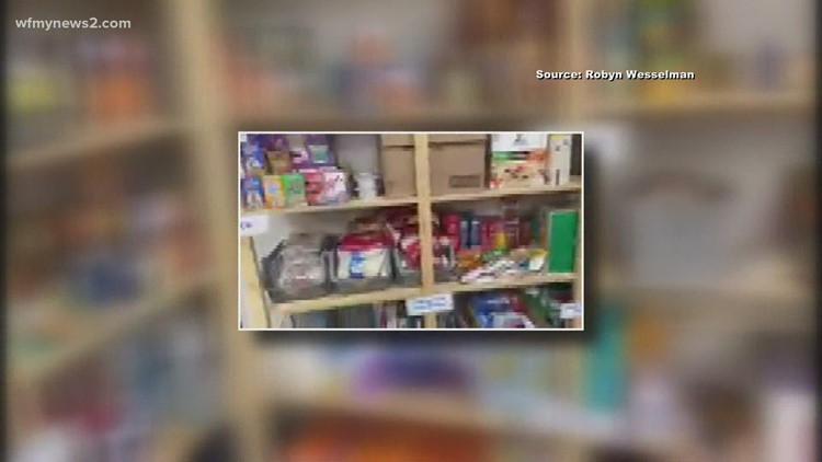 Mt. Tabor High School food pantry wants has plenty to offer