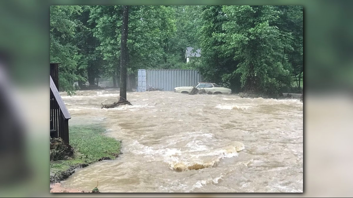 Flooding At Flat Creek In Black Mountain Nathan West Photo