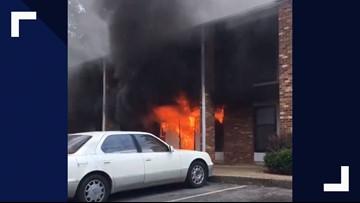 Fire Breaks Out At Winston-Salem Apartment Complex
