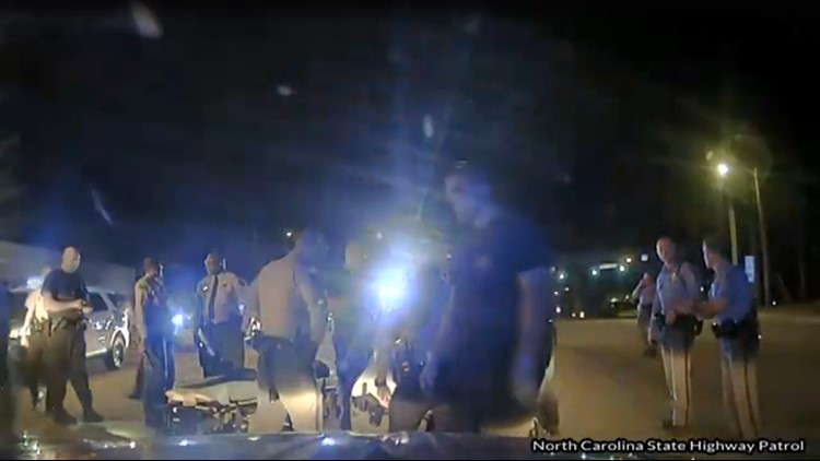Video Shows Controversial Arrest of NC Man | wfmynews2 com