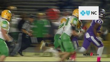 Friday Football Fever:  Blue Cross Of North Carolina Drive Of The Week
