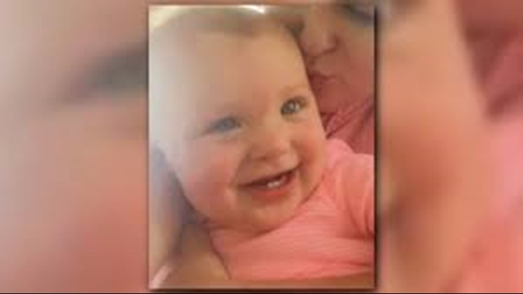 The infant's body was found in a diaper box not far from her home.