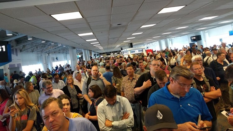 American Airlines carrier cancels Charlotte flights, prompting social media outcry