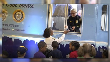 Winston-Salem Officers To Hand Out Books And Ice Cream From 'Sweet Reads' Truck