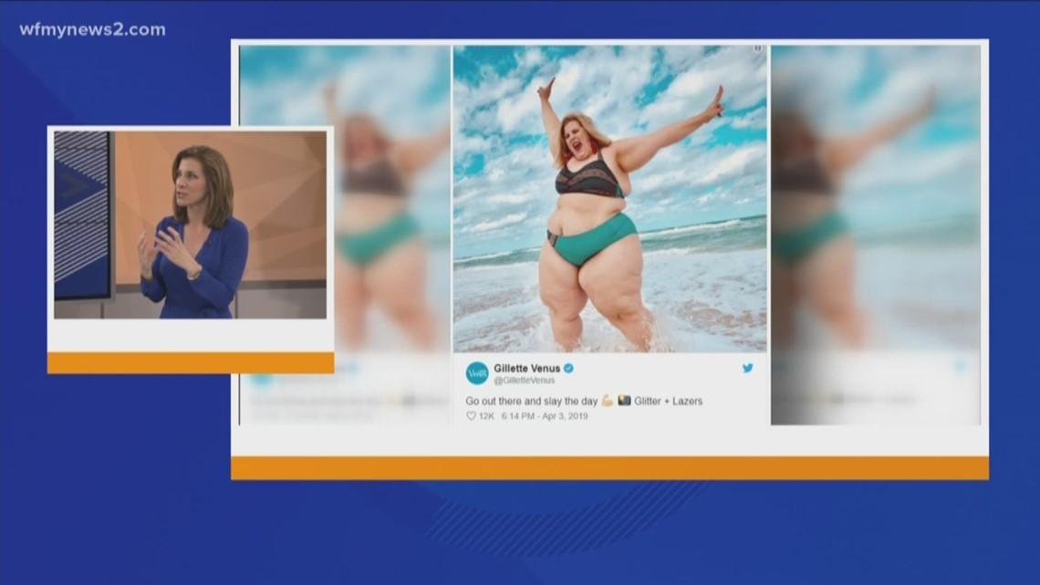 Controversy Over The Plus Size Model in Gillette Venus Ad