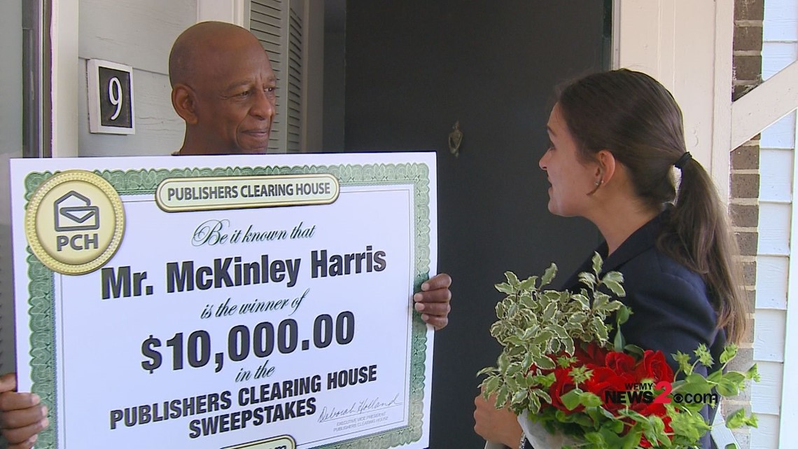 Publishers Clearing House Prize Patrol Surprises Military Veteran in