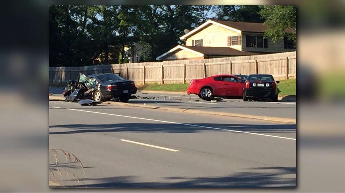Two Sent To Hospital After Head-On Collision In Winston
