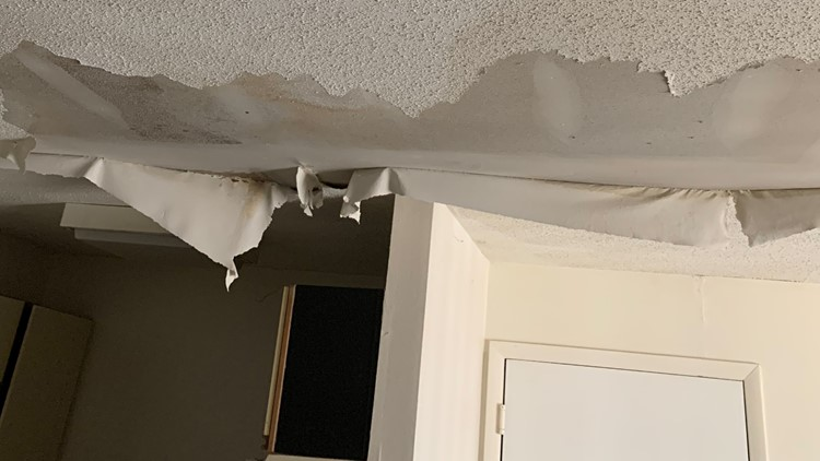 Water leak floods Greensboro apartment, tenant contacts News 2 after complex still charges rent