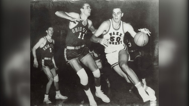 Chappell led the Demon Deacons to two ACC Tournament Championships and the school's only Final Four appearance in 1962