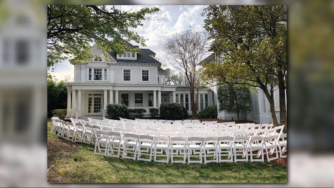 Historic Greensboro House Transformed Into Beautiful Wedding