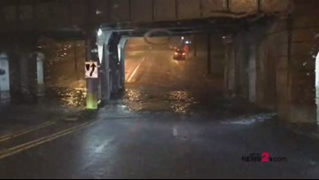 'Turn Around Don't Drown' Flash Flooding Makes Greensboro Drivers Detour or Chance It