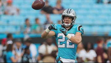 Panthers Running Back Christian McCaffrey starts initiative to support healthcare workers in Carolinas