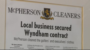 Burlington Laundry Business Keeps Wyndham Golfers Fresh And Clean