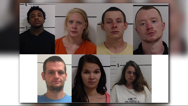 Seven Arrested In Surry County Drug Busts | wfmynews2 com