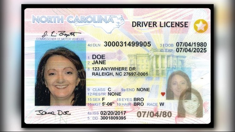 requirements for new nc drivers license