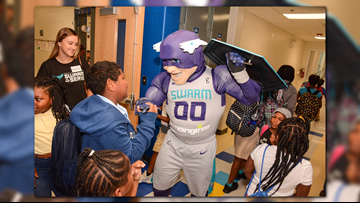 The Swarm, Hornets, And Bank Of America Partner To Benefit Guilford County Schools