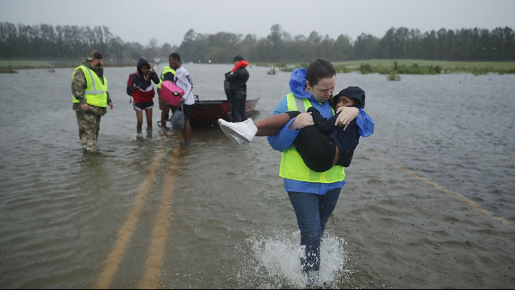 hurricane rescue florence NC
