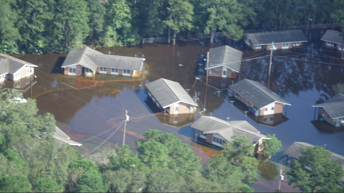 Florence: North Carolina's rivers still rising after record rain