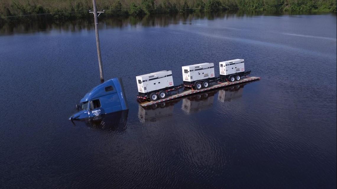 Flooding Sends 'Unheard' Amounts of Water Through the Carolinas