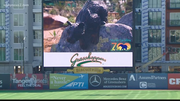 The Greensboro Grasshoppers have a new identity