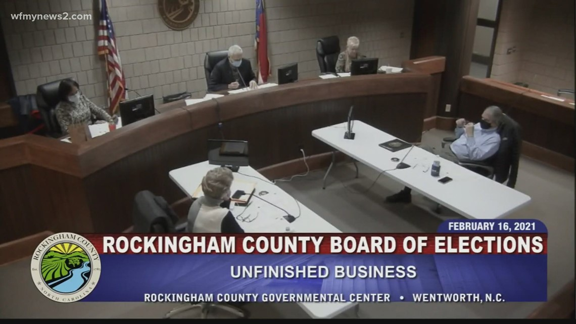 Rockingham County Board of Elections denies free bonuses to its one-stop poll workers
