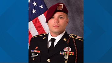 A hero comes home: Supporters line street for Fort Bragg soldier killed in Afghanistan