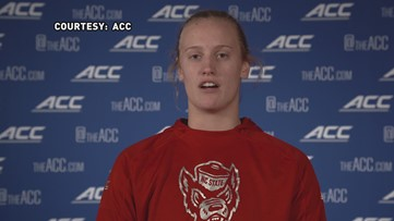 'My successful image would be catching one of the big balloons on stage as ACC Champions': NC State's Elissa Cunane talks ACC Women's Tournament