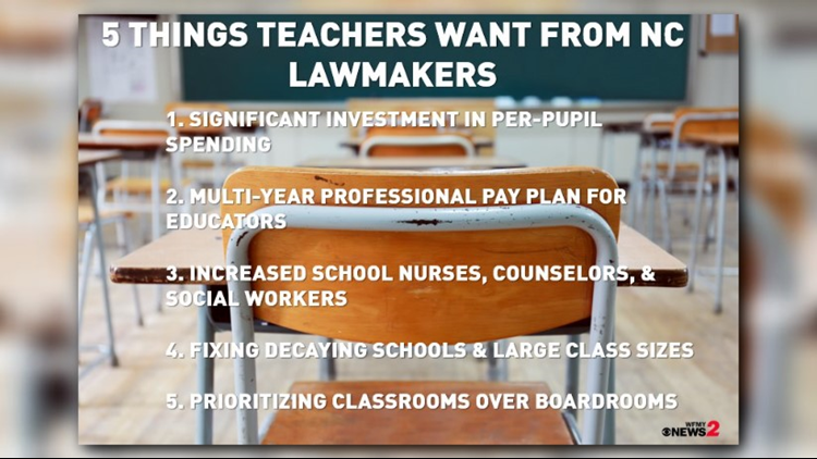 5 Things Teachers Want From Lawmakers