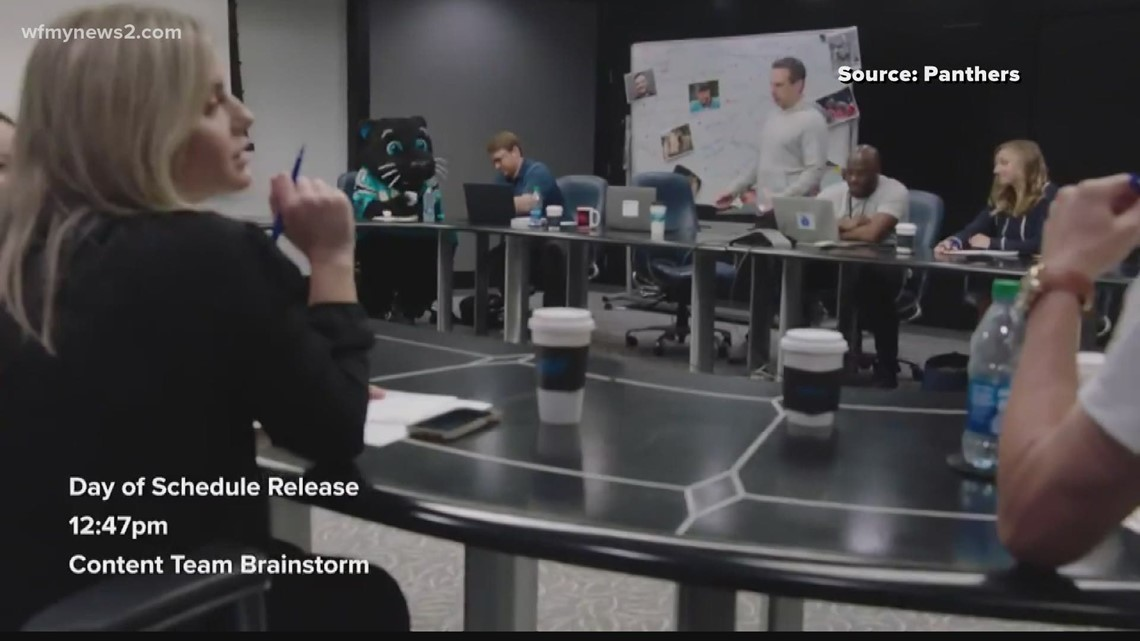 The minds behind Carolina Panthers social media