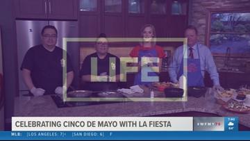 Cinco De Mayo Party Dishes from La Fiesta Restaurante