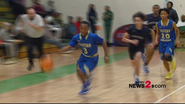 Westover vs. Eastern Guilford in High School hoops matchup