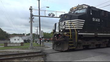 Deadliest Area in NC For Deaths Involving Trains is Eastern Greensboro