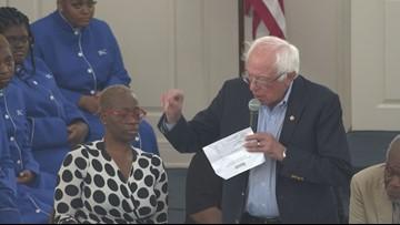 Bernie Sanders Makes Multiple Stops in Greensboro