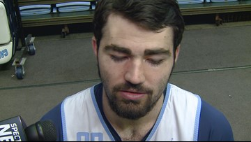 Interview With UNC's Luke Maye Ahead Of Wednesday's Game At Duke