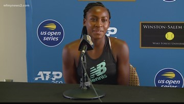 Coco Gauff On Being At The Winston-Salem Open