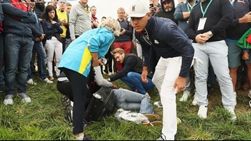 Woman Blinded In One Eye After Being Hit By Brooks Koepka Tee Shot At Ryder Cup