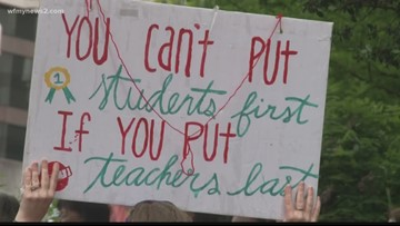 Armed With New List of Demands, North Carolina Educators Planning 2nd March On Raleigh