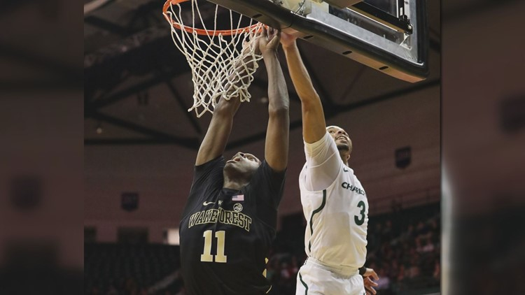 Wake Forest University made the announcement Wednesday.