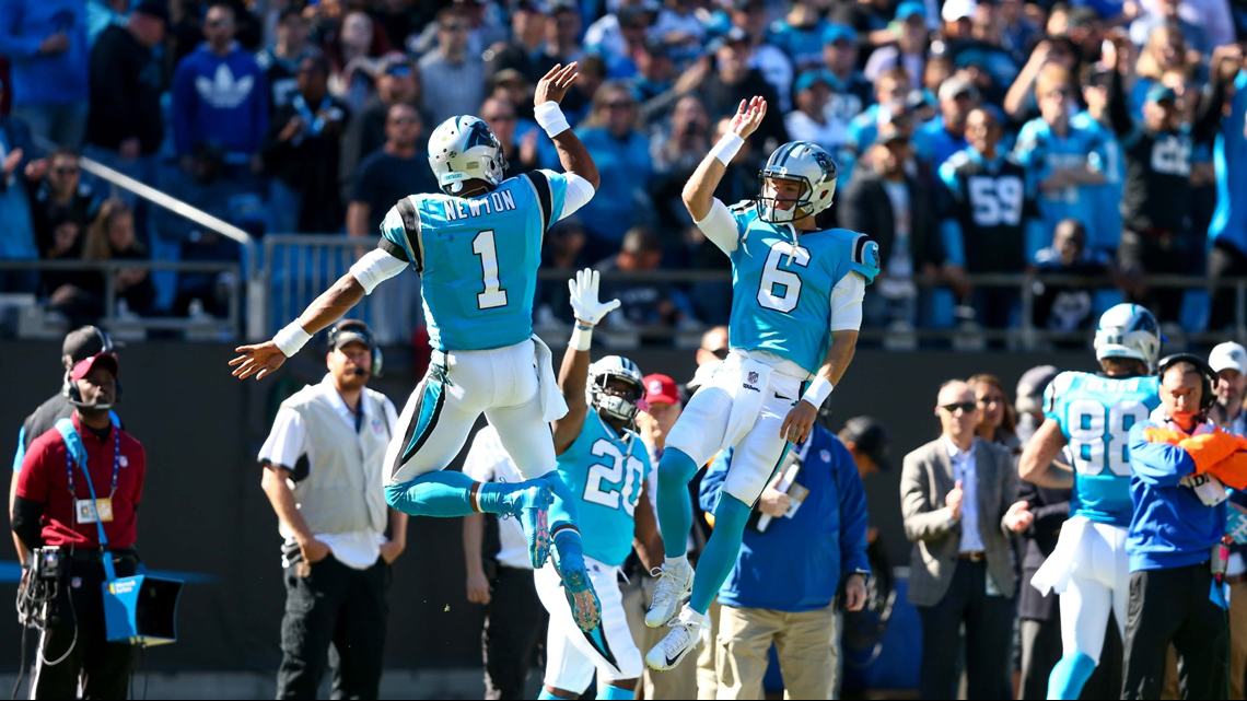 c5b212963798 Carolina Panthers Roll In 36-21 Win Against Baltimore Ravens ...