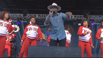 Singer Cupid Hosts Live Concert at Walmart in Winston-Salem After Viral Shuffle Dance