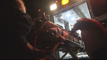 EXCLUSIVE | A Night Near Death: 12 Hours In An Ambulance Tracking Overdoses With Paramedics