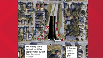 New Traffic Pattern to Start at Gate City Boulevard and Murrow Blvd Intersection in Greensboro