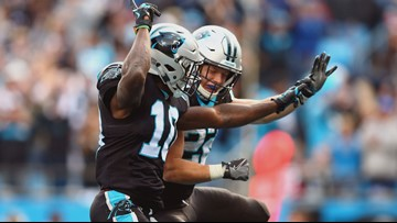 Cam Newton, Christian McCaffrey Lead Panthers Past Bucs 42-28