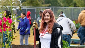 WSSU Student Collects 5,000 Plastic Bottles to Win $30K Community Garden for Campus