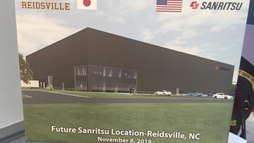 Sanritsu Bringing $9M Investment, 24 Jobs To Rockingam County