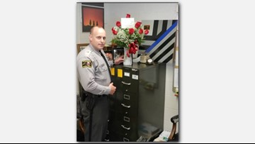80-Year-Old Woman Sends Flowers To Trooper's District Office After He Fixes Her Flat